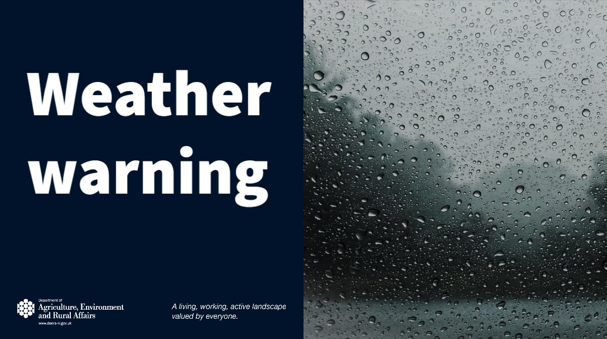 In line with current weather warnings issued by @metofficeNI for high winds on Saturday 8th February & Sunday 9th February we are advising the public not to visit Forests, Country Parks & Nature Reserves in vehicles or on foot until the high winds subside. #StormCiara @belfastcc