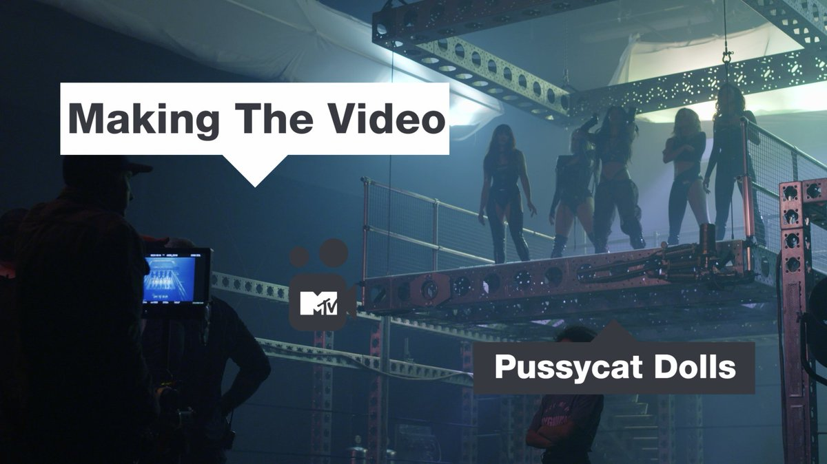Don't miss the premiere of our EXCLUSIVE Making The Video of @pussycatdolls #REACT tomorrow at 1pm on MTV Music 🔥💦🔥