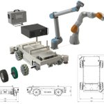 Image for the Tweet beginning: La plateforme robotique mobile TC200
