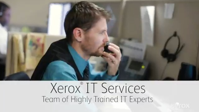 Image for the Tweet beginning: Announcing Xerox IT Services: The