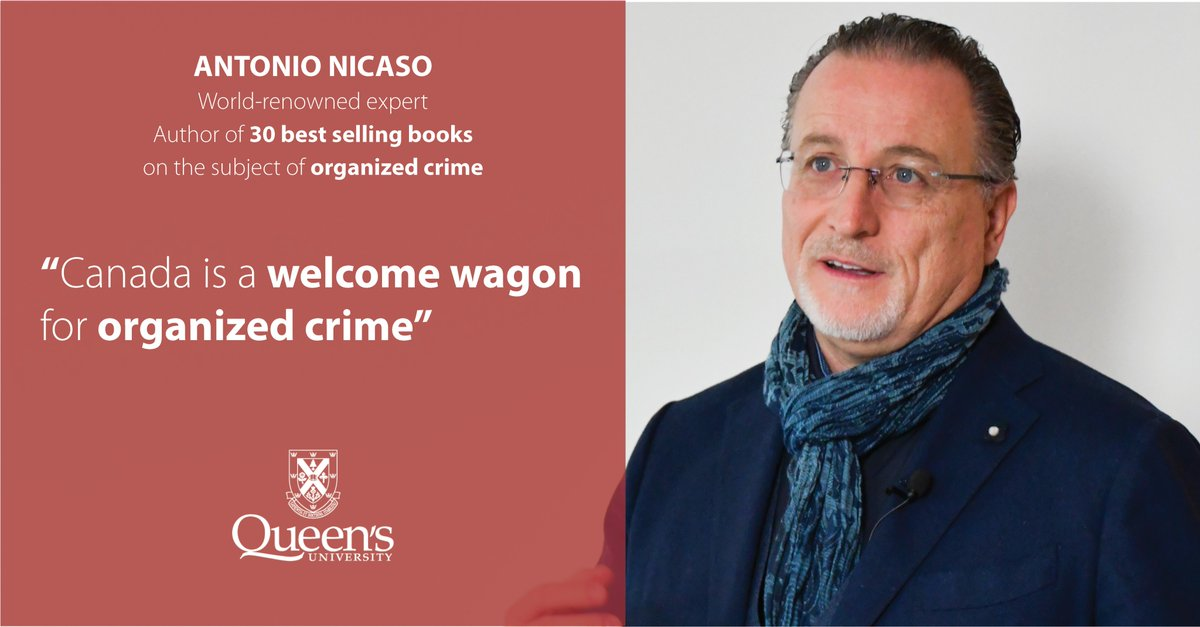 We're excited to introduce our new non-credit Certificate in Organized Crime Prevention. Join an info webinar on Feb. 12 or Feb. 26 to learn about the program from @QueensU Professors @AntonioNicaso and Donato Santeramo. https://t.co/9MmsTCkvwJ https://t.co/4Bd2IJIlLd