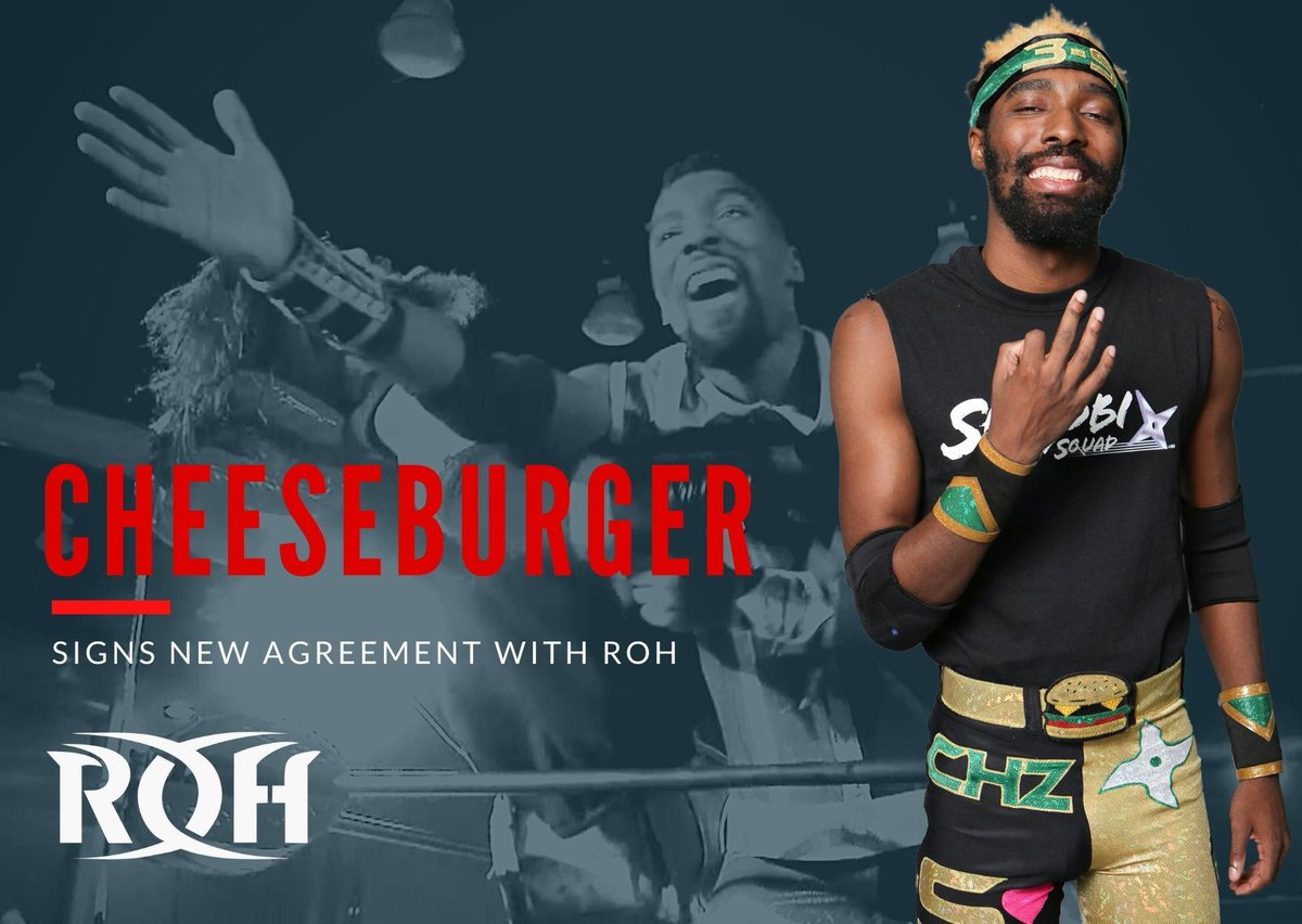 Cheeseburger Signs New ROH Contract, ROH Signs Adam Brooks