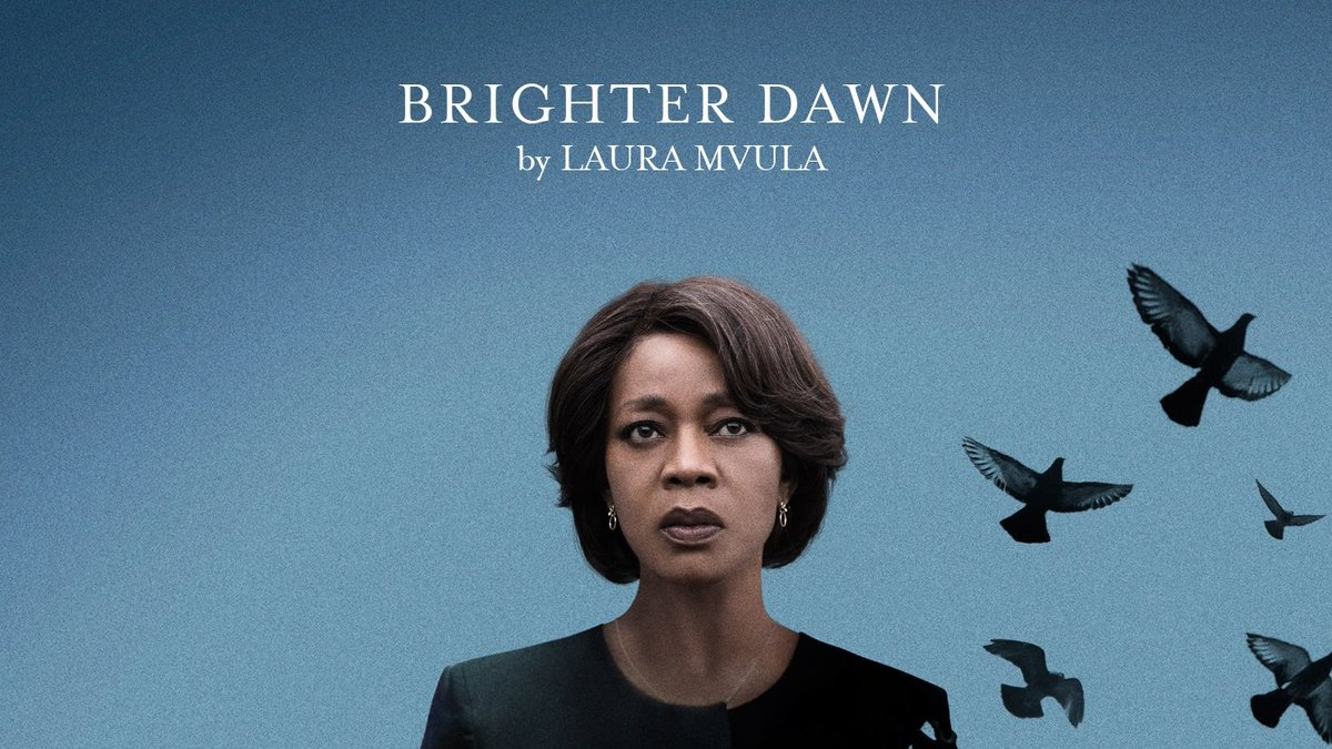 Heres the original song written by British artist Laura Mvula called Brighter Dawn that ends our film. Released today. Go find it on your fav platforms. Herere links to Apple bit.ly/LM-BD & Spotify bit.ly/BD-LM