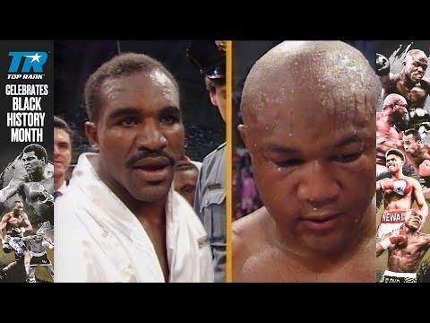 Black History Month Free Fight: Foreman vsHolyfield youtube.com/watch?v=8L83mO…