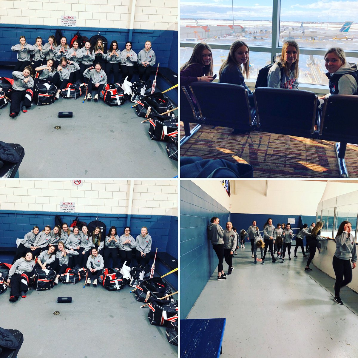 U16A Force have arrived at the Kelowna Sweetheart Tournament ready to play!! #spra #kelowna #ringettetournament pic.twitter.com/fa7bBQ0NSv
