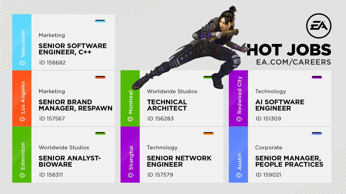 Come work on an ambitious new IP at Motive Studios as Technical Architect as you evaluate existing technology & target improvements to the engine, pipeline & tools to meet project needs. Get full details & apply @  #WeAreEA #HotJobs