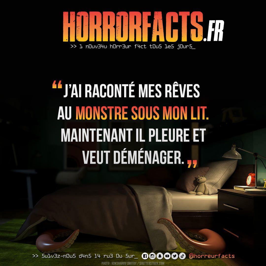 Le pauvre :( #monstre #monstresouslelit #cauchemar #reves #peur #peurdunoir #horreur #horreurs #horreurfact #horreurfacts #horrorfact #horrorfacts #filmdhorreur #horreurfans #histoiredhorreur #lit #souslelit #noir #danslenoir #cauchemarspic.twitter.com/ZnweICqTGW