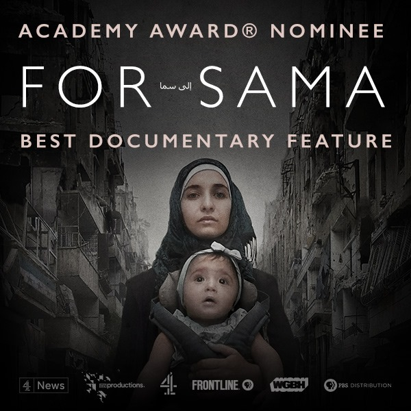 We congratulate @frontlinepbs on a much deserved #Oscar nomination! Were rooting for you & the incredible documentary @forsamafilm this Sunday. 👏🏽 Stream the film here 👉🏽 to.pbs.org/2O7XyGV