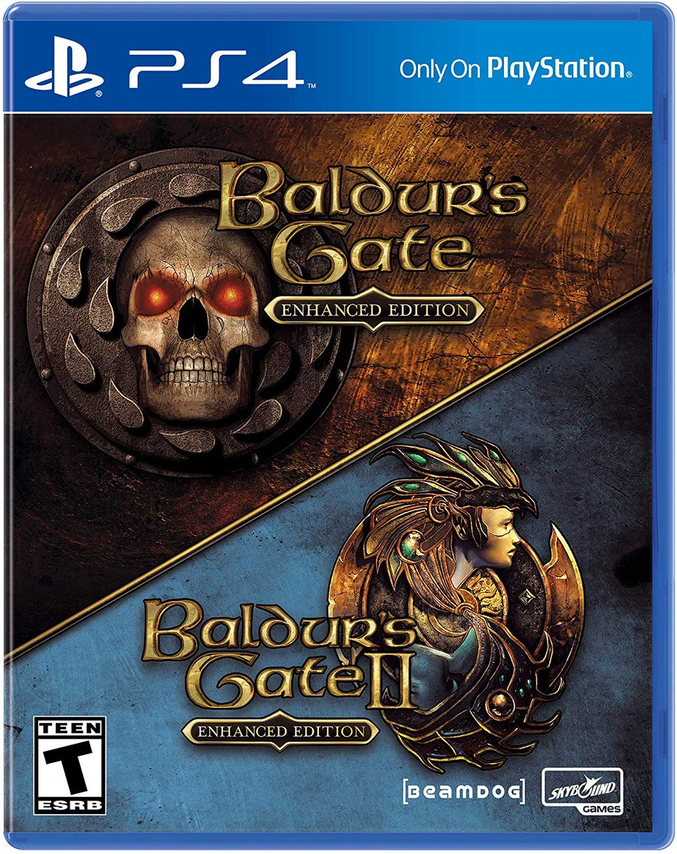 Baldurs Gate: Enhanced Edition is discounted to $20 on Amazon. Includes Baldurs Gate, Baldurs Gate II, & Siege of Dragonspear in their lovely enhanced forms. PS4: amzn.to/389HPjc XBO: amzn.to/2OBkm2W