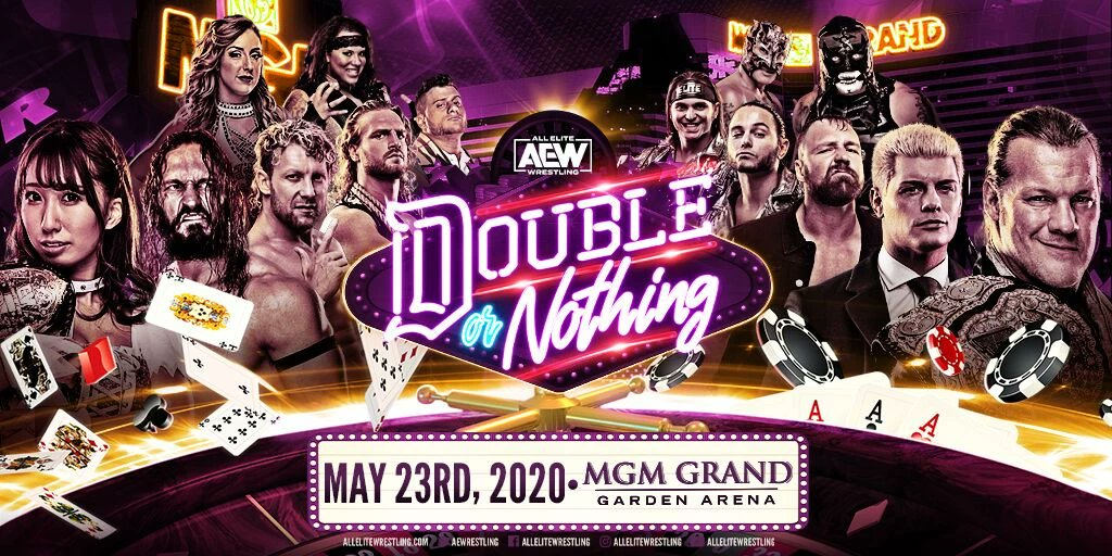MGM Reportedly Shutting Down All Attractions Until May 31st, AEW Double Or Nothing To Be Changed?