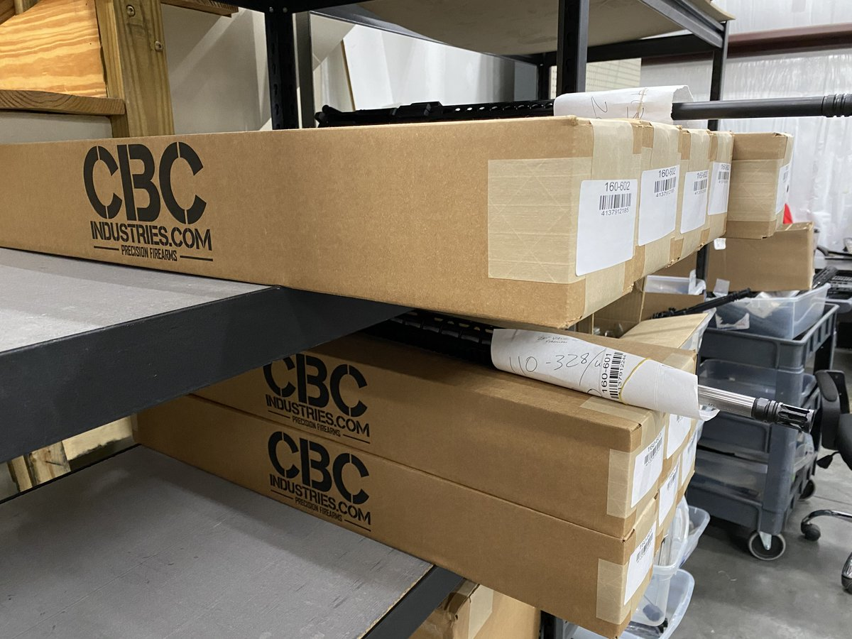Multiple boxes ready to ship out today!  @CBCIndustries #pewpew #ar #arkit #cbcindustries #orders https://t.co/6Eb9TBaQRh
