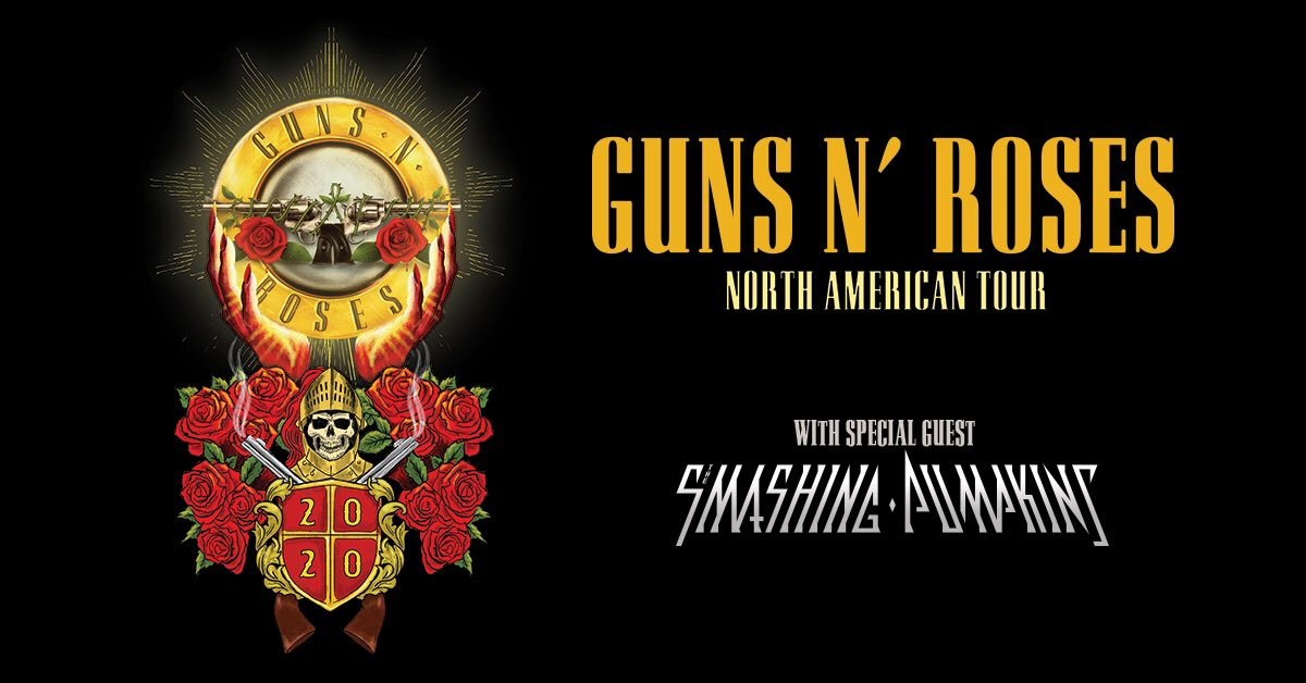 Tickets are on sale NOW for @gunsnroses on Saturday, July 18! Get yours at bit.ly/MetLifeGNR