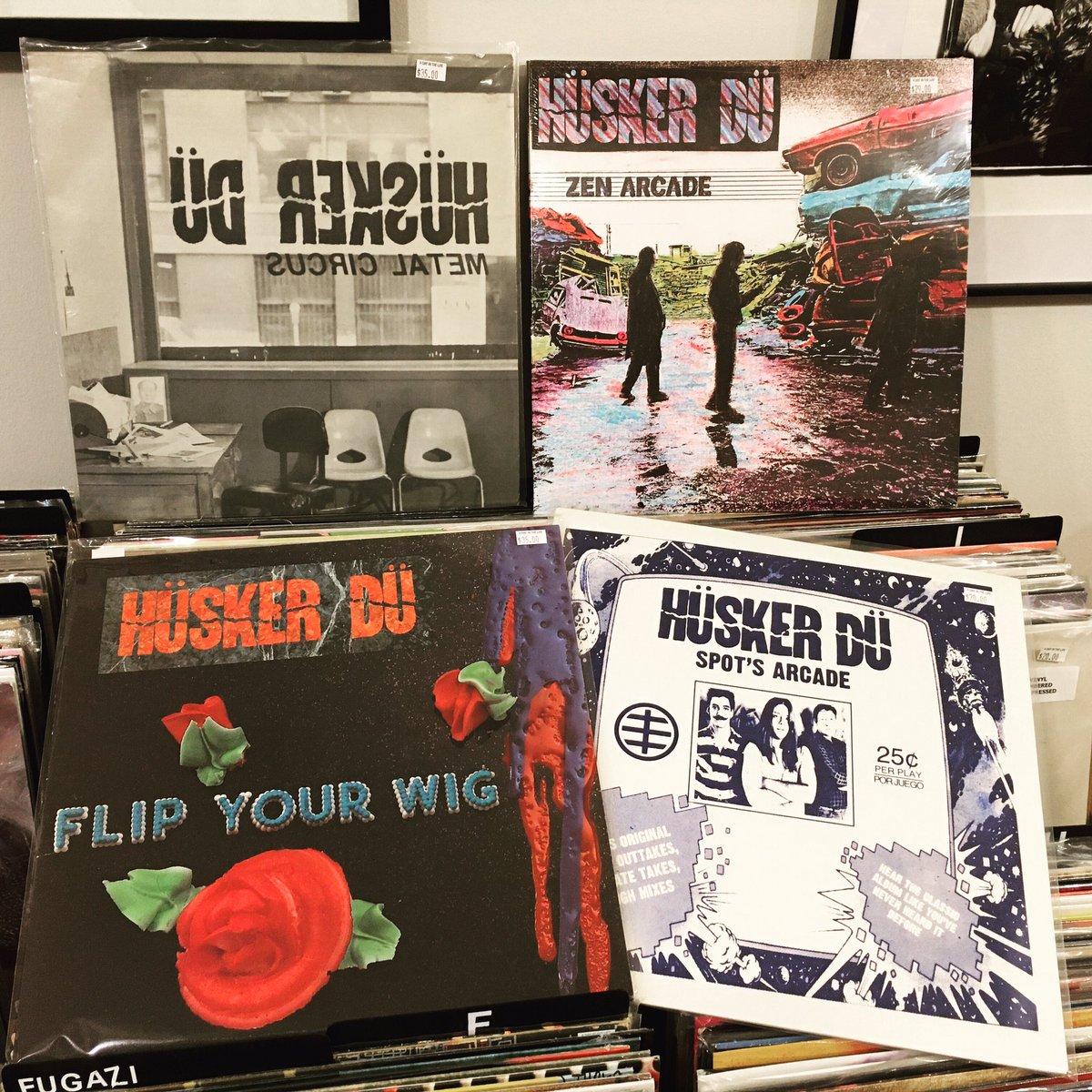 Lots of Hüsker goodness in the racks right now. #huskerdu #punk #punkhardcore #punkrecords #minneapolis #sstrecords #vinyl #nowplaying #supportsmallbusiness  #records #recordshop  #lancastercity #adayintheliferecords #aditlrecords #cratediggingpic.twitter.com/PqaG2cE47Y