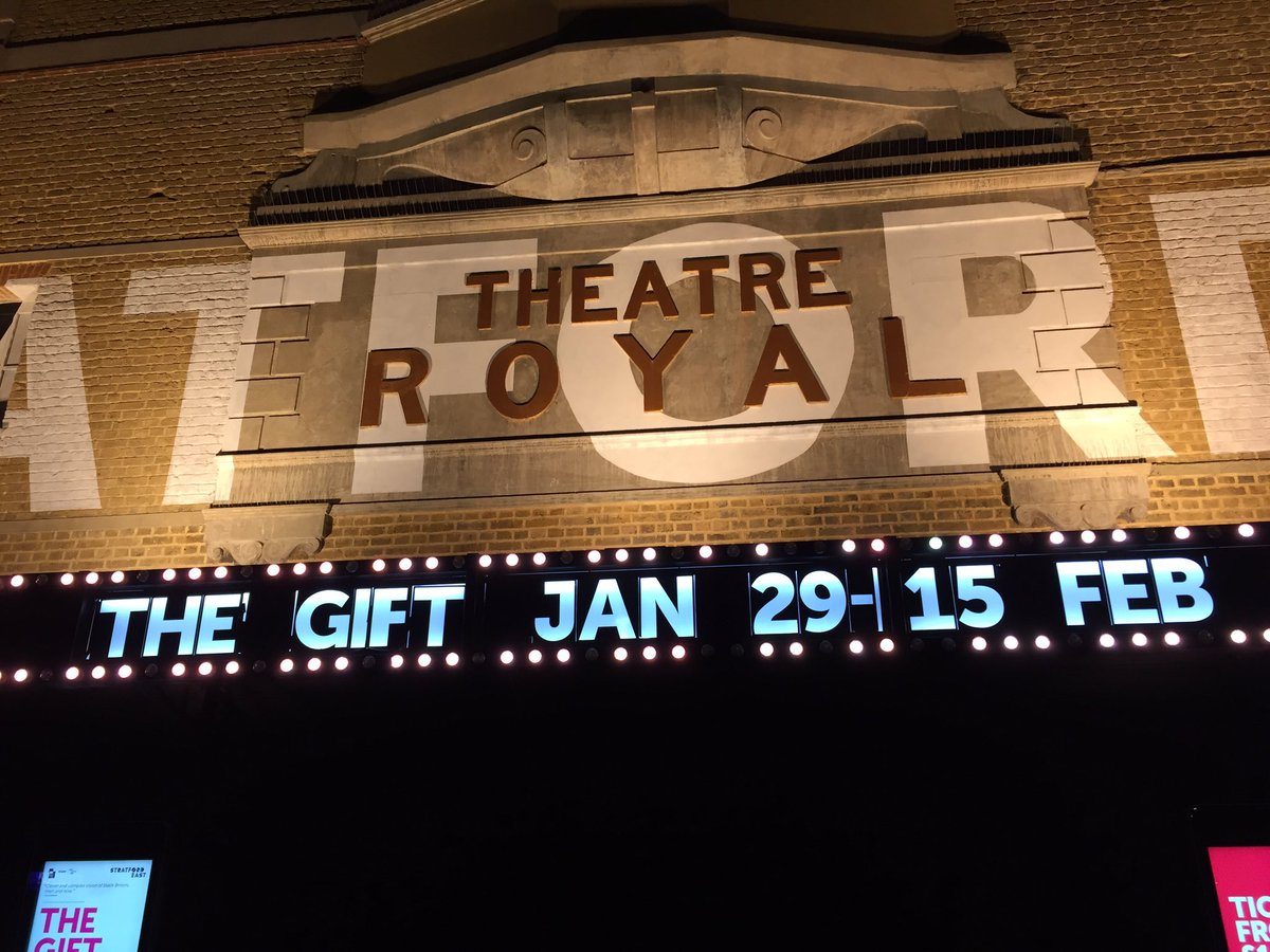 Looking forward to this #TheGift @stratfordeast