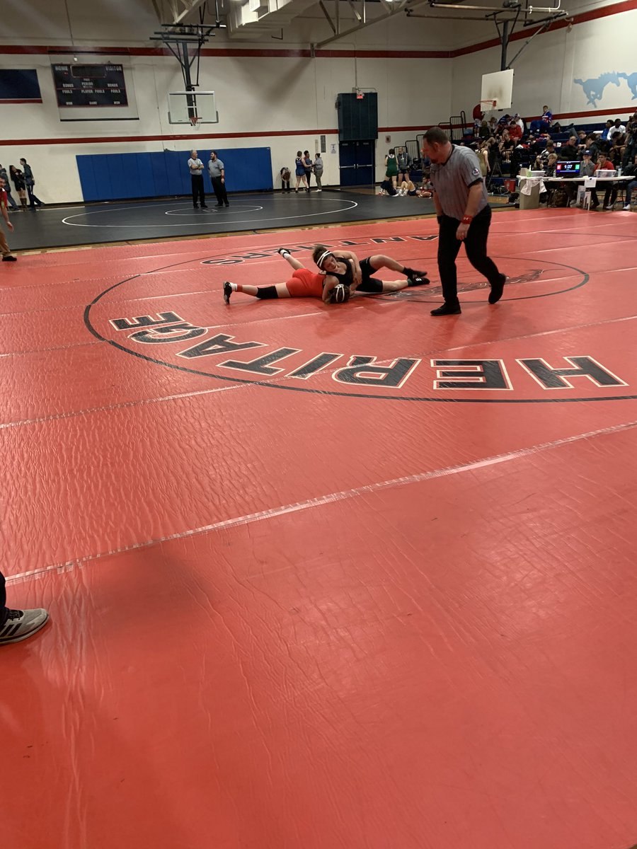 More Action from the District 5-5A wrestling tournament!!