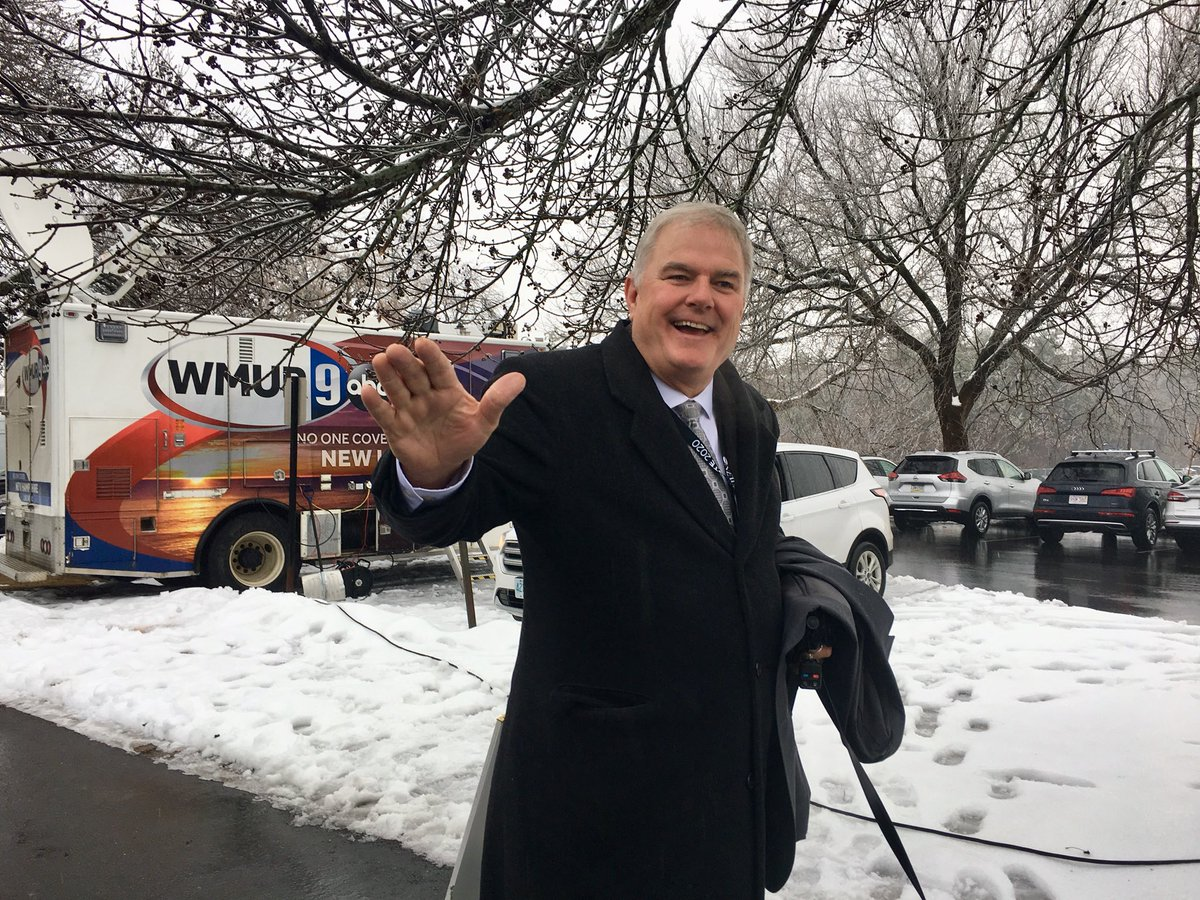 .@WMUR9 Ok we can get started now, The Big Dig @TomGriffithWMUR Just showed up at #fitn #2020