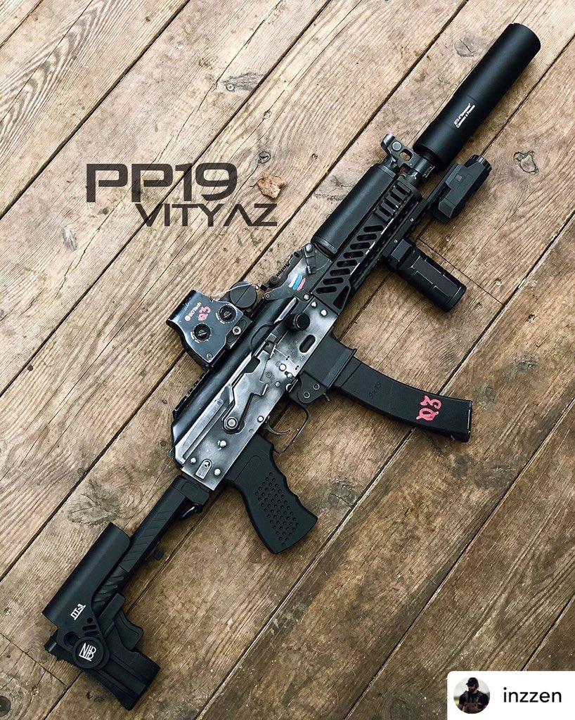 How did you dress PP1901? Picture from @inzzen  #lct#lctairsoft #lctairsoft_official #vityaz #pp1901 #aeg #airsoft #airsoftgun #airsofttactical #tactical #airsoftporn #airsoftobsessedpic.twitter.com/BMoKBfgNn2