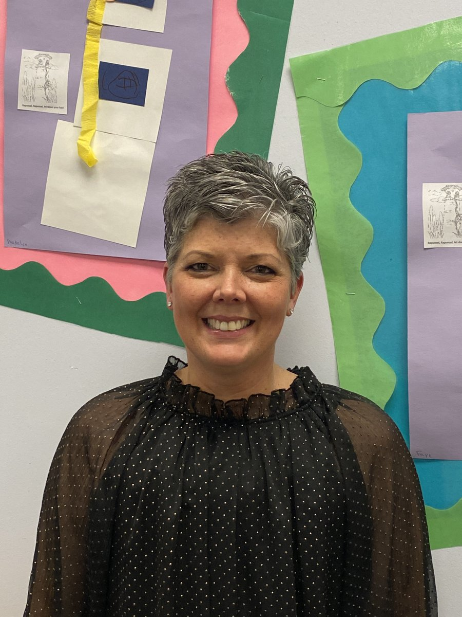 Congrats to Mrs. Maureen! You are our Teacher of the Year!
