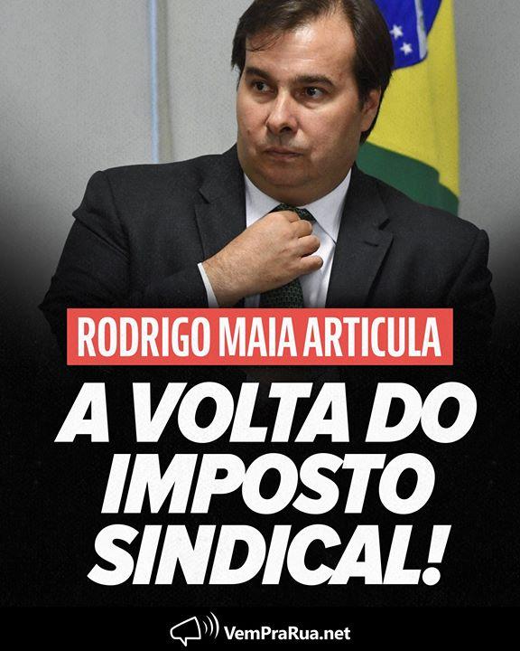 """VPR 🇧🇷 #FiqueEmCasa בטוויטר: """"Rodrigo Maia quer tirar um pedaço ..."""