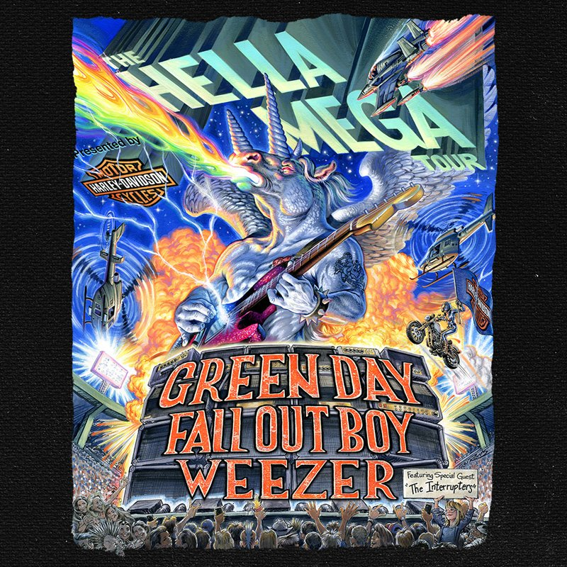 .@GreenDay's new album FATHER OF ALL... is out now! Make sure to listen before heading to the Hella Mega Tour in July.  Tickets available now! #FatherOfAll  🎟️: