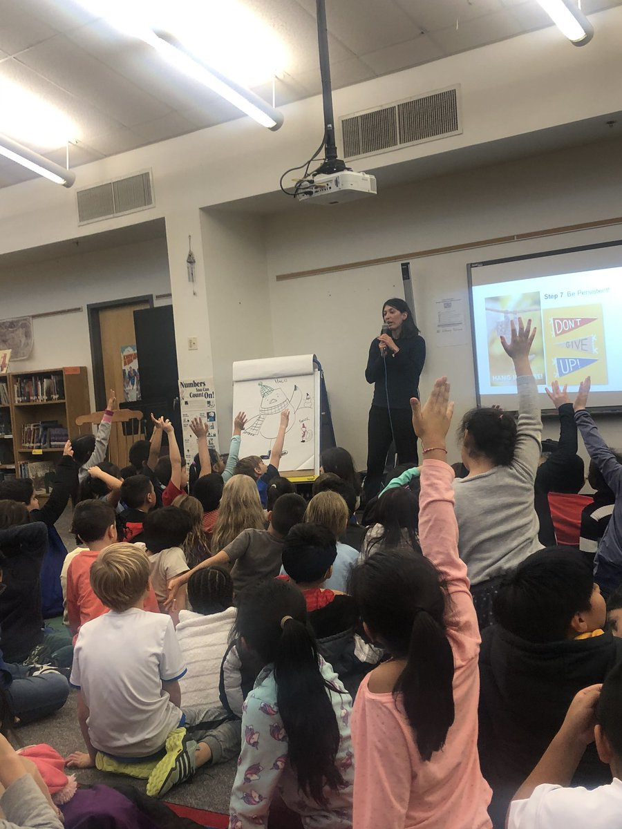 We loved meeting author & illustrator Angela Dominguez today! Watching her draw was extra special! <a target='_blank' href='http://twitter.com/BarrettAPS'>@BarrettAPS</a> <a target='_blank' href='http://search.twitter.com/search?q=KWBpride'><a target='_blank' href='https://twitter.com/hashtag/KWBpride?src=hash'>#KWBpride</a></a> <a target='_blank' href='https://t.co/ClN10qdc0S'>https://t.co/ClN10qdc0S</a>