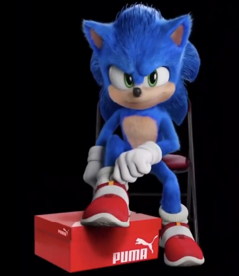 Koala Kong Itsabouttime On Twitter Seriously Puma Where Is The Real Shoes Of Sonic People Want This Shoes Not The Model On Video