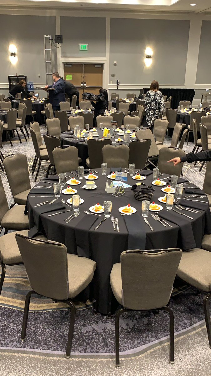 Lunch is looking good at #CCIRA20 - see you all there at 12:45!