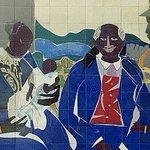 "For #BlackHistoryMonth, check out the glazed ceramic tile mural titled ""Family"" by African American artist Romare Bearden, commissioned through Art in Architecture Program for the Joseph P. Addabbo Fed Building in Queens, #NewYork @US_GSAR2 https://t.co/wXPbG5mUpp #MuralMondays"
