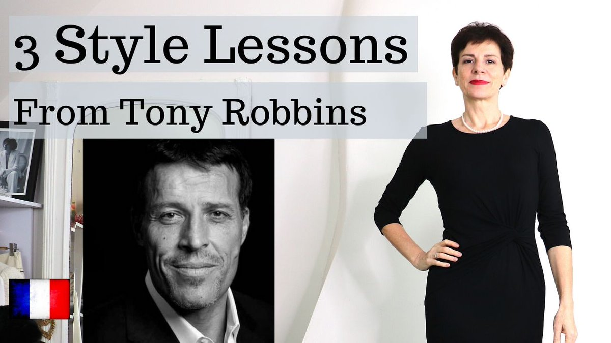 3 #Style Lessons I learned from @TonyRobbins Live Right Now! Yes! Absolutely! When it comes to fundamental truths they are as applicable to style as to everything else..be/WOYOJz4mIOQ  #frenchchic #tonyrobbins #motivation #weekend #outfit #ootd #Fridaypic.twitter.com/JijKmZDQ7Z