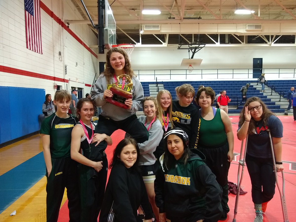 Congratulations to the Girls Wrestling Team!!! They finished 2nd place today.