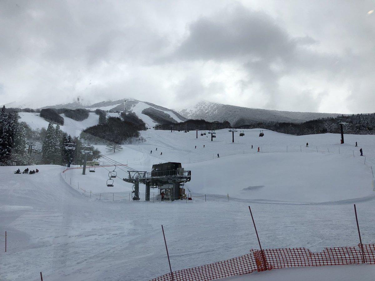 スキー 場 天気 田沢湖