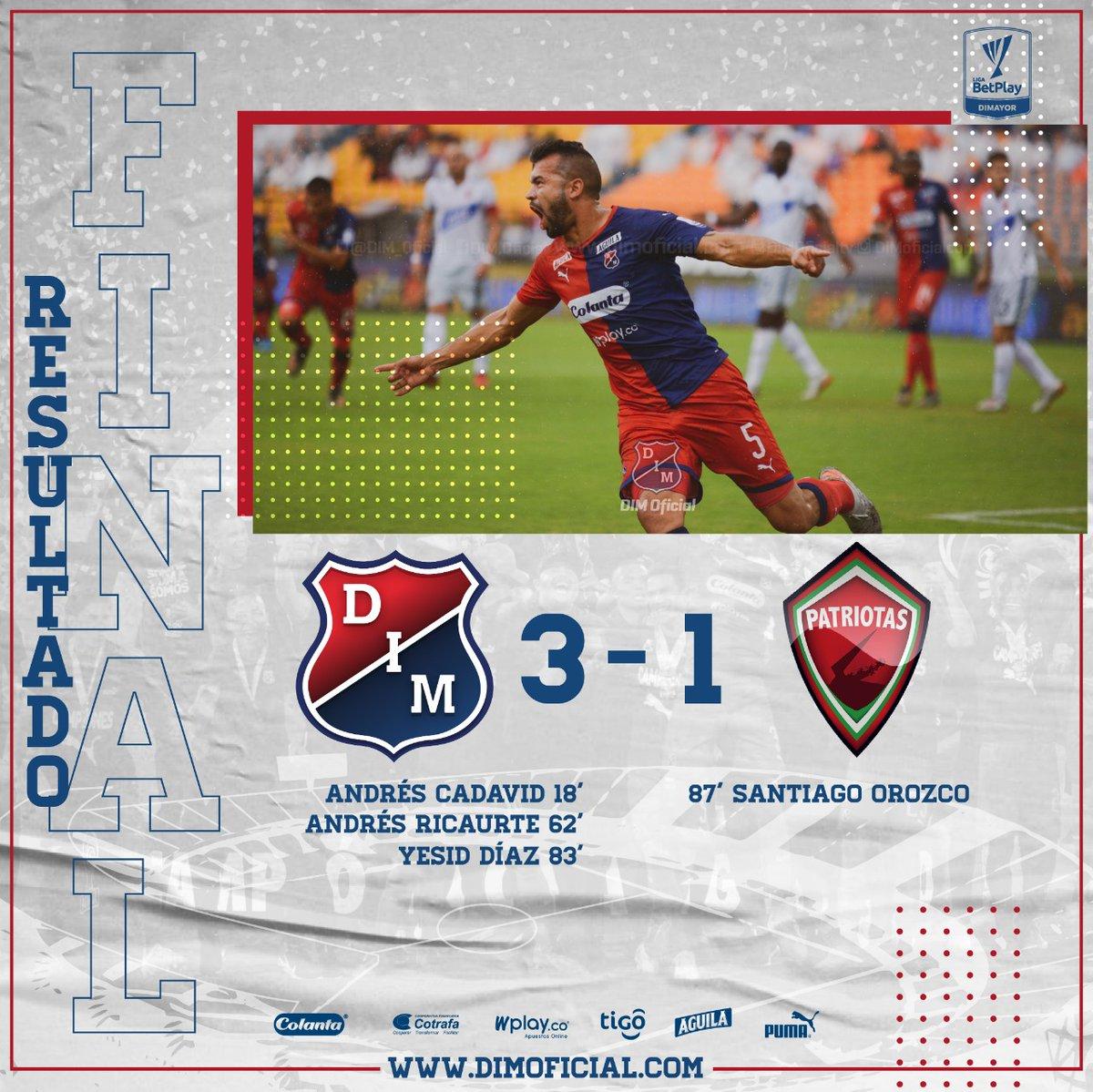 Independiente Medellin Vs Patriotas Apertura 2020