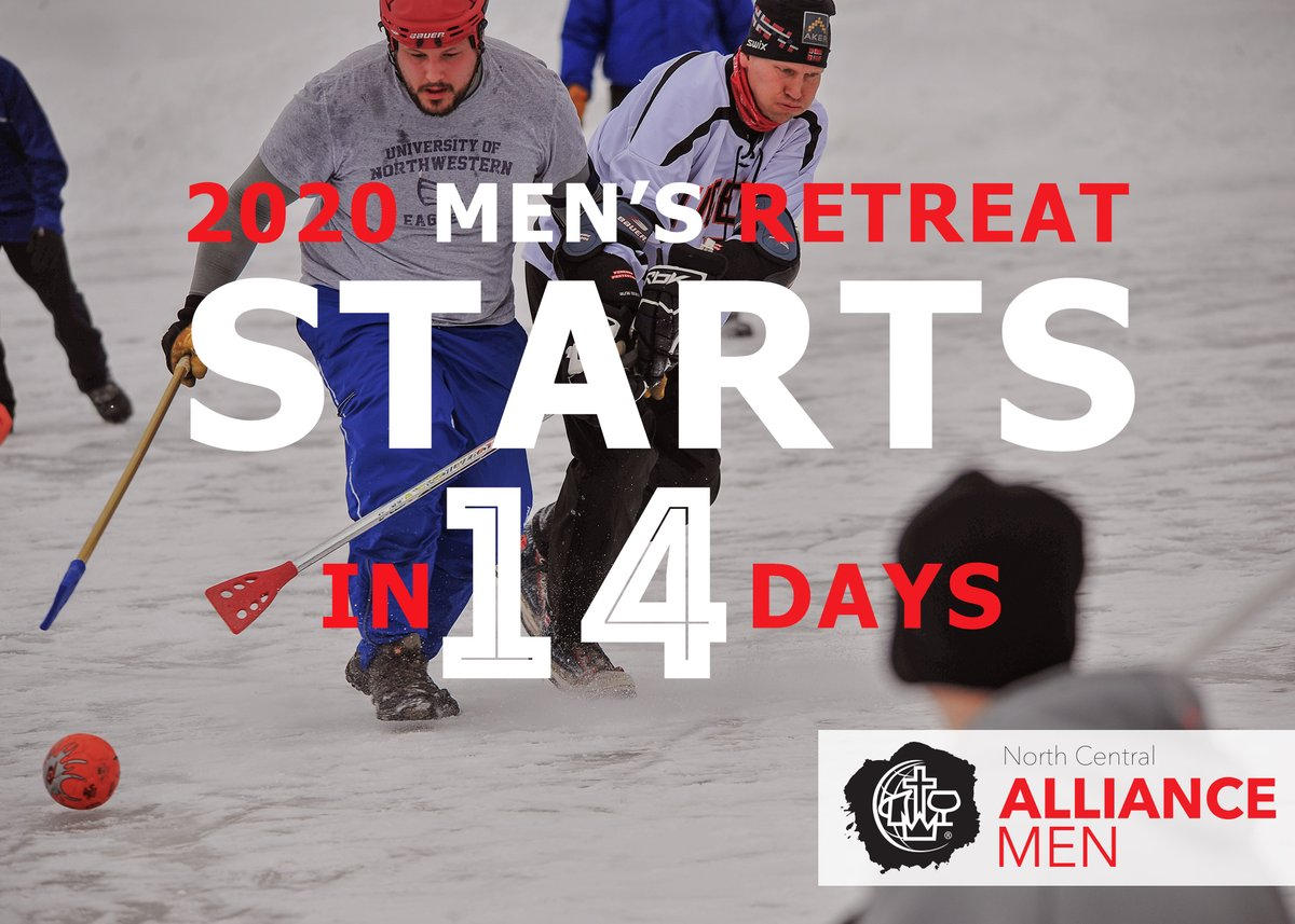 Time to get your registration in if you haven't already. In exactly 2 weeks, Feb 21, our Men's Retreat will begin. Sign up here: https://register.northcentralalliancemen.org/events    @cmalliance @NCD_of_The_CMA  #NCalliancemen  #alliancemen  #mensretreat  #NCmensRetreatpic.twitter.com/6T2GPet2u1