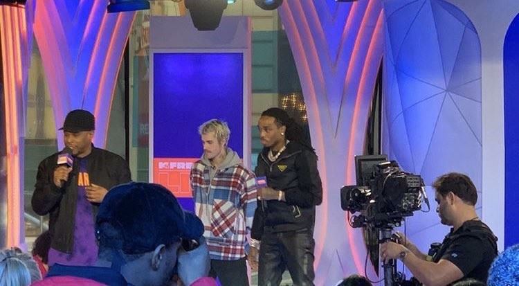 justin and quavo today  (february 7th, 2020)