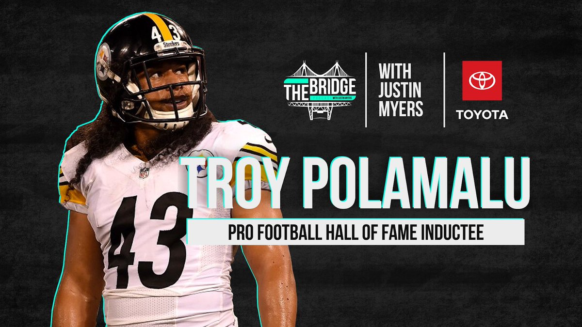Just a couple of kids from Douglas High School! @tpolamalu and I talk about growing up together in Winston, him playing for @PeteCarroll his career with the @steelers what it was like being elected to the @ProFootballHOF and a lot more!   https://t.co/g1pnJrdCnD https://t.co/bbwDLFHu5f