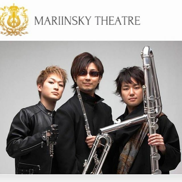 "SANKYO FLUTES على تويتر: ""Magnum Trio in the Mariinsky Theater!! 7 ..."