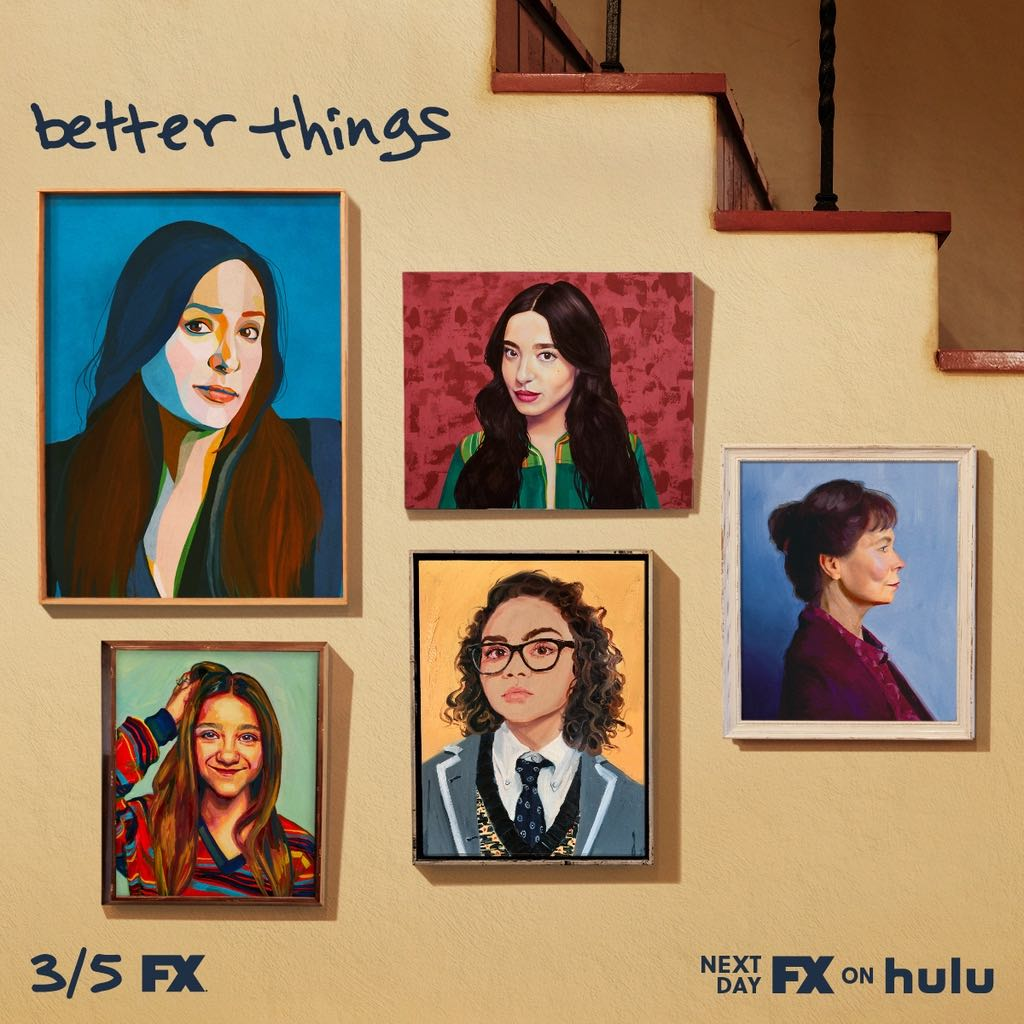 keep it together. @BetterthingsFX returns march 5 on fx and next day on #FXonHulu.