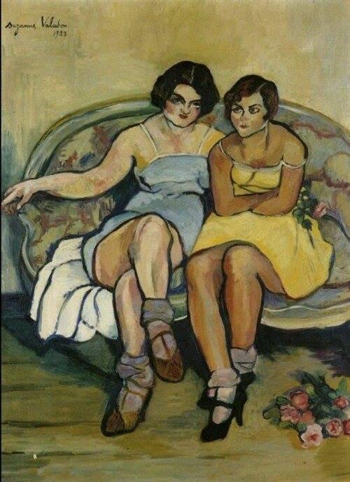 #SuzanneValadon. Les deux amies .(1923)