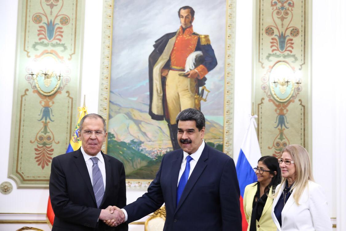 Лавров в Венесуэле