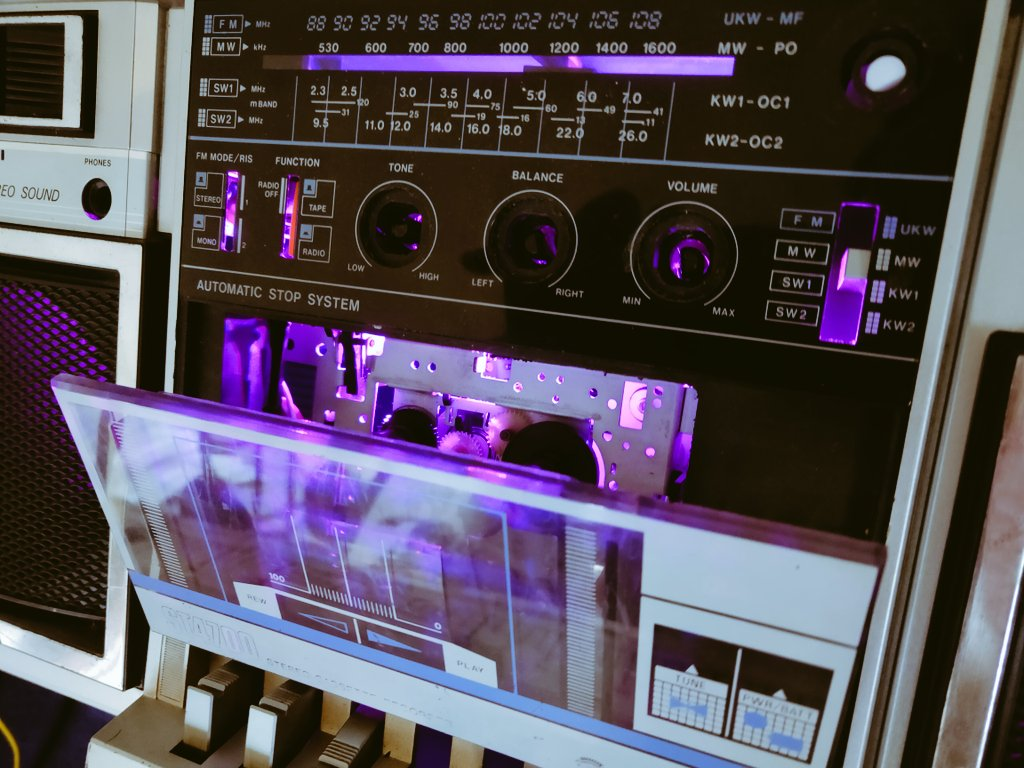 This is coming together nicely. #synthwave aesthetic for life