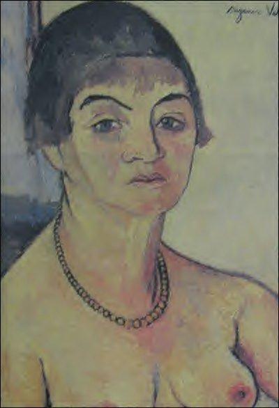 Self-Portrait, 1938 #suzannevaladon #postimpressionism