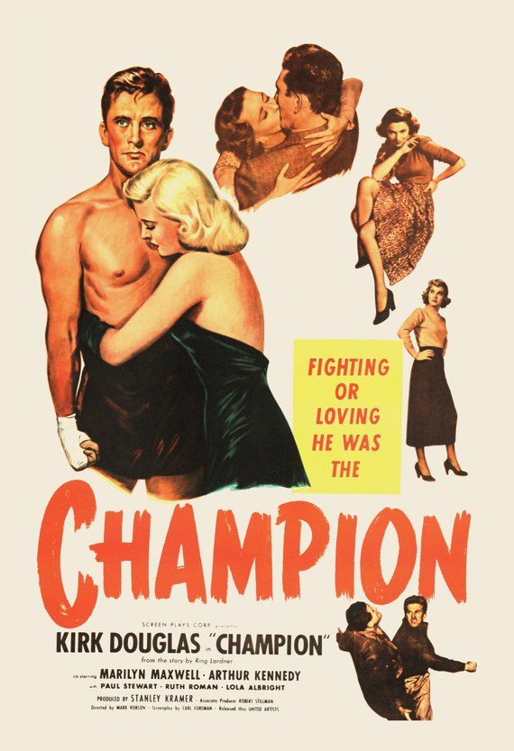 An immigrant's son who made good & one of the final links to #Hollywood's #goldenage, #KirkDouglas' passing at 103 is true end of an era! One of the roles that made him a star is our #SportsFlixFriday #POTD, 1949's #Champion! If u haven't seen it, ur missing out! It's a #mustseepic.twitter.com/bC94hiFiSP