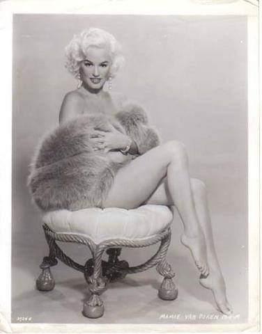 Happy belated birthday Mamie Van Doren.