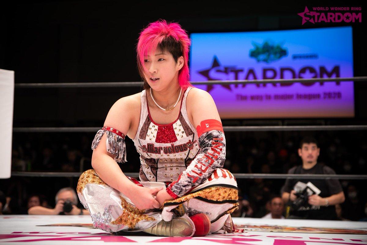 """We Are Stardom on Twitter: """"February 8 Korakuen Hall ◇Special Singles Match Takumi  Iroha pinned Mayu Iwatani Part 2… """""""