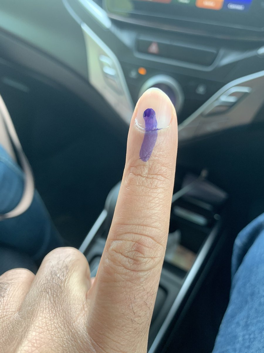 Did you get yours? #DelhiPolls2020