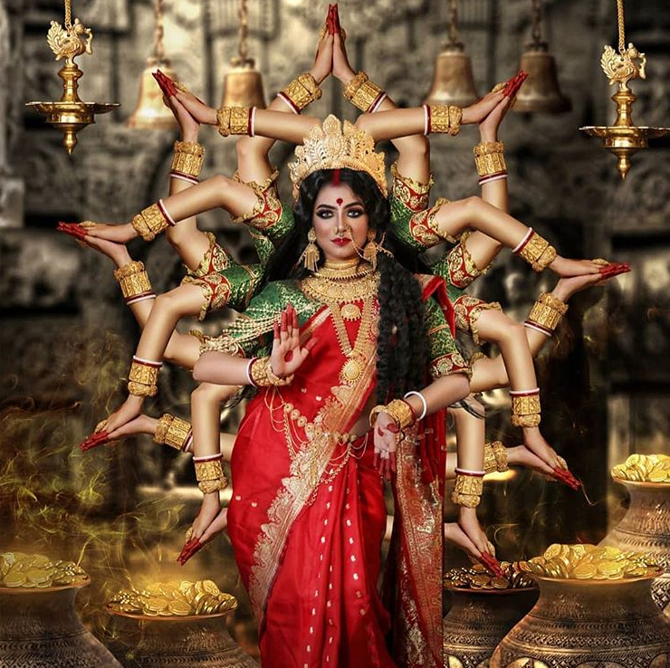 Vertigo Warrior On Twitter Devi Maa Lakshmi Is The Consort Of The God Vishnu She Is The Goddess Of Wealth And Purity Maa Lakshmi Is Commonly Portrayed As A Beautiful Woman With Four V.v.sagar you are the mother of all creatures, as that god of gods, hari, is their father. devi maa lakshmi