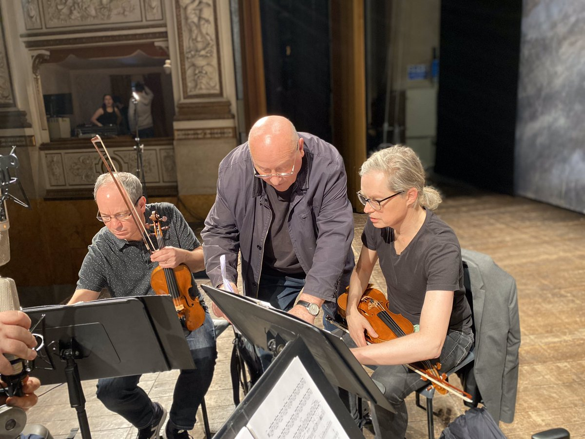 Wonderful to be there in Pisa with The Smith Quartet to hear the Premiere.