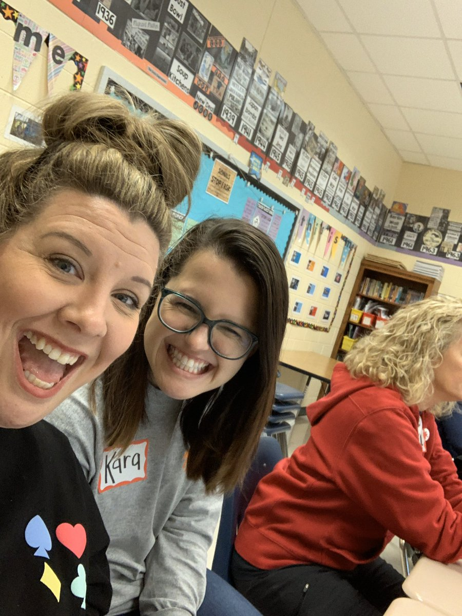 @EdCamp_Forsyth learning in the snow today! #sharonstrong