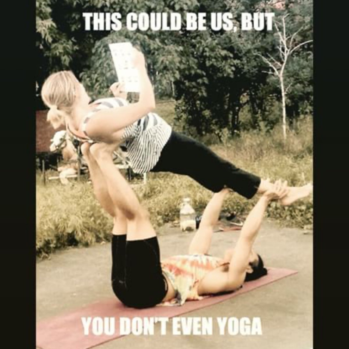 Good morning  Ready to turn up the heat with Sexycises?! http://Sexycises.com #Sexycises #CouplesYoga #CouplesWorkout #PartnerYoga #PartnerWorkout #Yoga #HappySaturday #SaturdayShenanigans #SaturdayMorning #PoseOfTheDay pic.twitter.com/652hiRxuMK