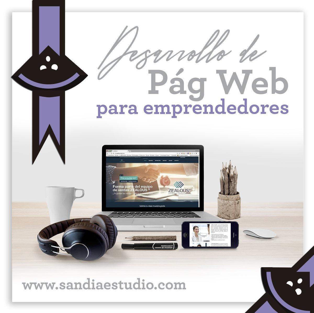 Si lo que necesitas es una página web, ¡estás en el lugar indicado!  Visita https://t.co/ik19GhP4JK para más información. ☎ 55 8435 4093  #Emprendimiento #Negocios #WebDesing https://t.co/1zVYMcAj0A